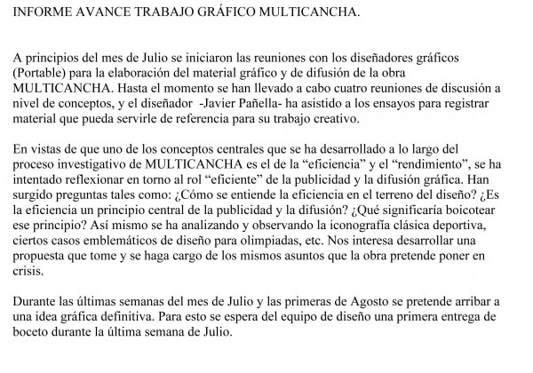 Microsoft Word - INFORME AVANCE TRABAJO GRçFICO MULTICANCHA.doc